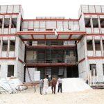 پیشرفت پروژه ساختمان جدید ستاد استانی
